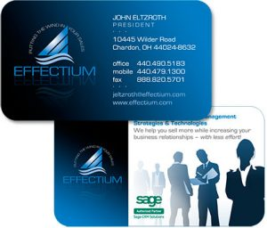 logo, slogan and business card design by Edwards Communications