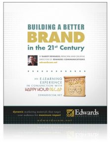 Building a Better Brand eBook by Barry Edwards