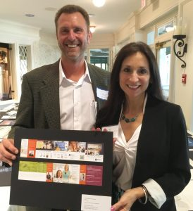 Barry Edwards and Susan Licate at 2016 Apex awards